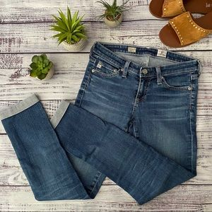 AG Jeans Stilt Roll Up Cigarette Roll Up Crop Jean